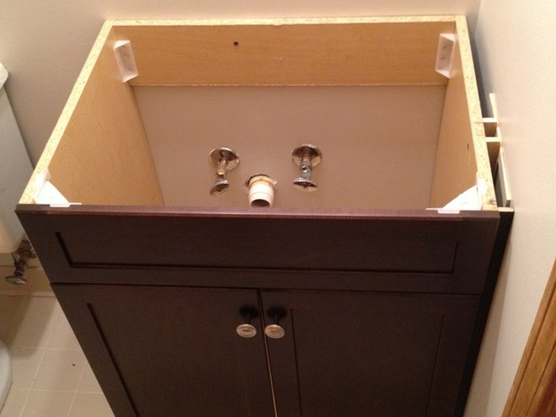 Replacing Bathroom Vanity Countertop