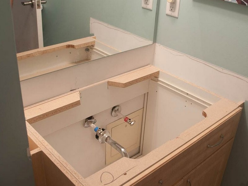 Replacing Bathroom Vanity Top