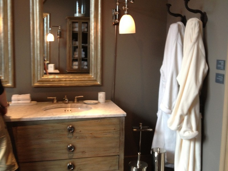 Restoration Hardware Bathroom Vanity Single