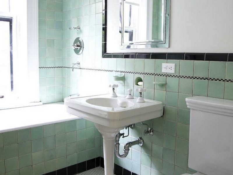 Retro Bathroom Tile Design Ideas
