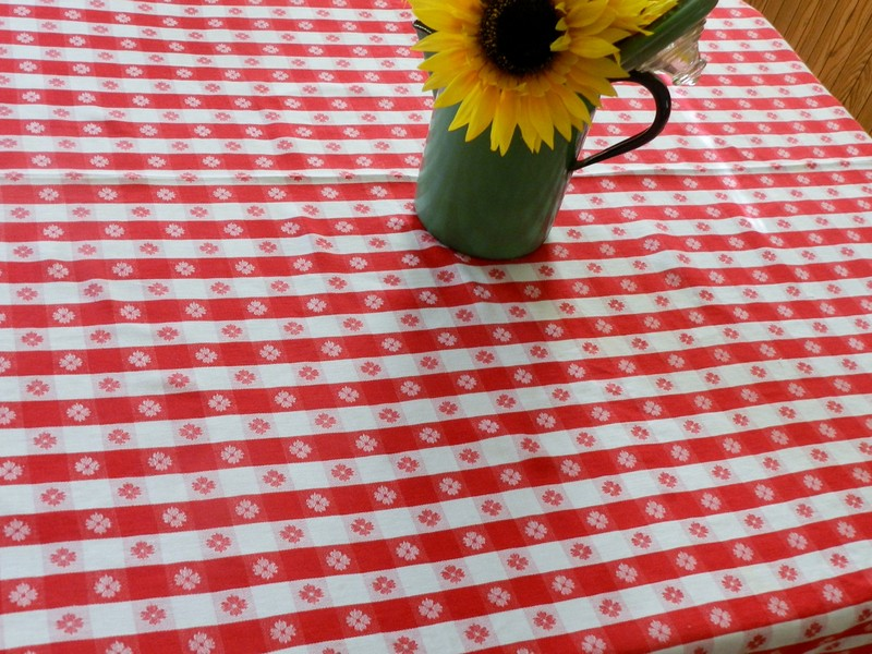Retro Diner Tablecloth
