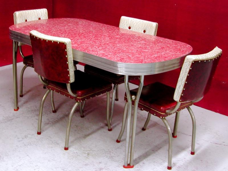Retro Dining Table Set