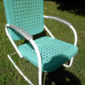 Retro Patio Chairs Metal