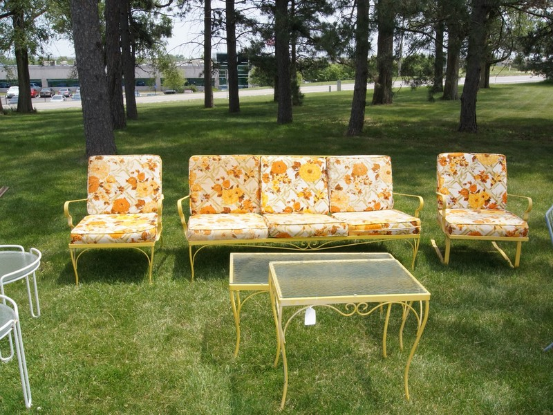 Retro Patio Chairs
