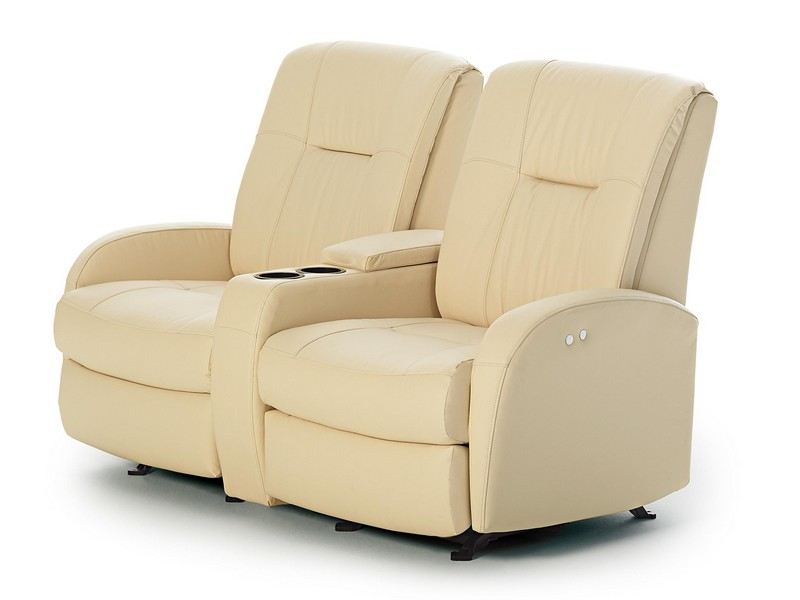 Rocker Recliner Loveseat With Console