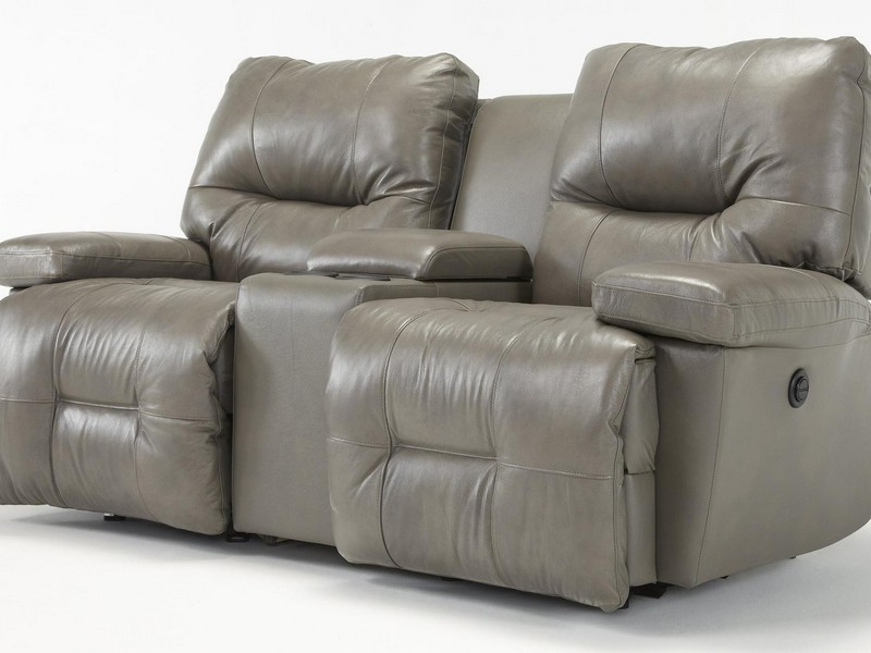 Rocking Recliner Loveseat With Console