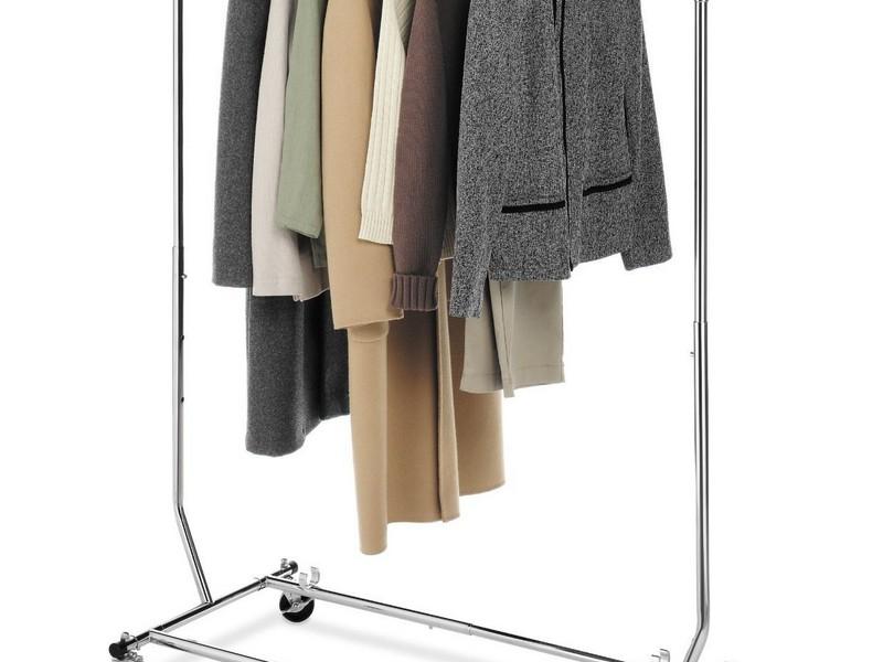 Rolling Closet Rack