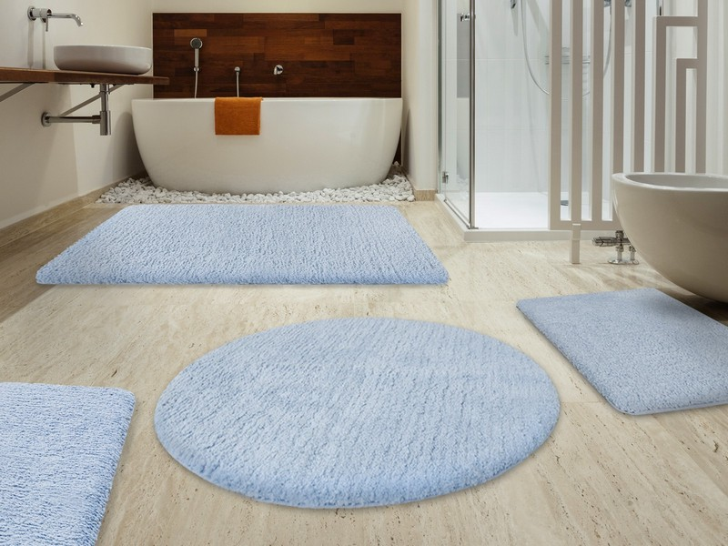 Round Bathroom Rugs Uk