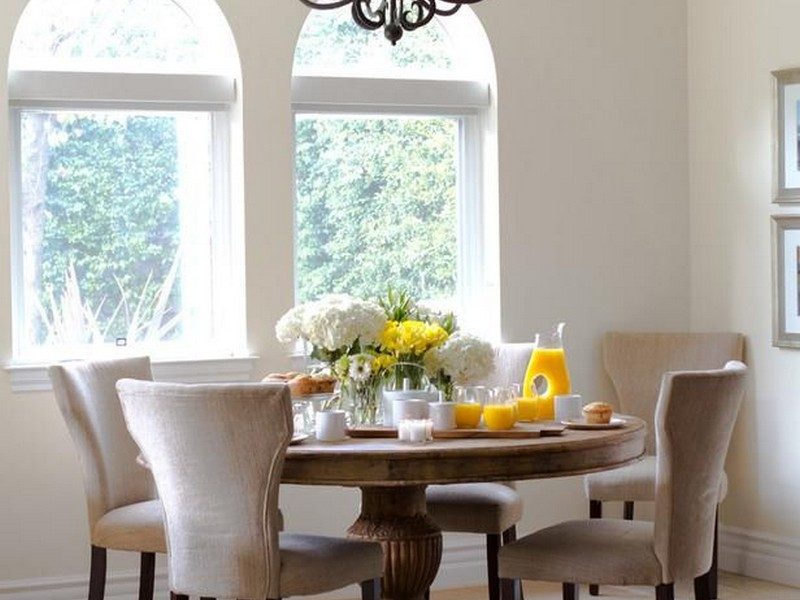 Round Breakfast Nook Tables