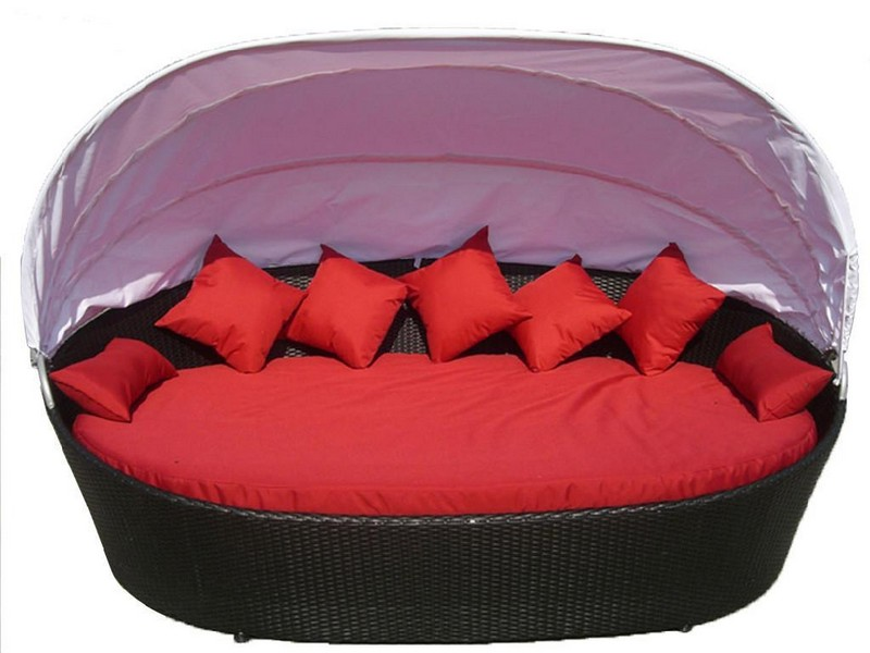 Round Chaise Lounge Cushions