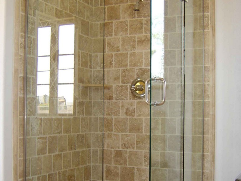 Round Corner Shower Stalls For Small Bathrooms