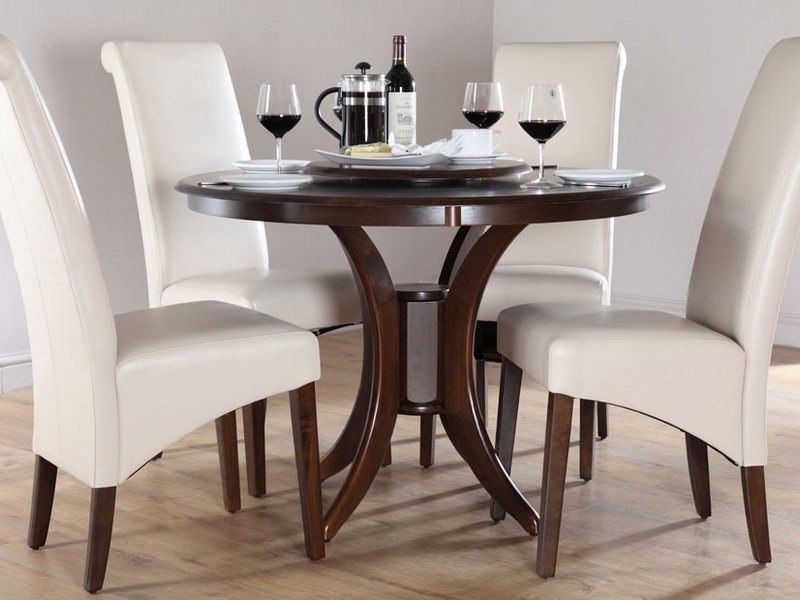 Round Dining Tables For 4