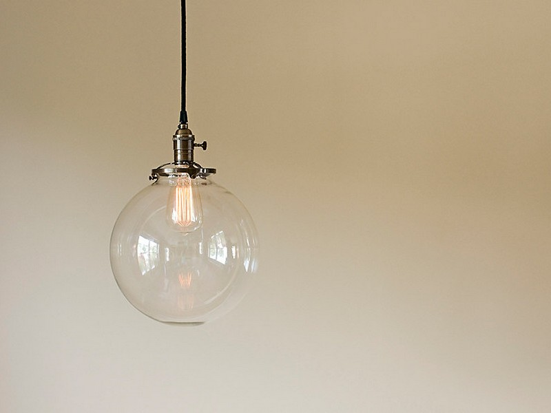 Round Glass Light Fixtures