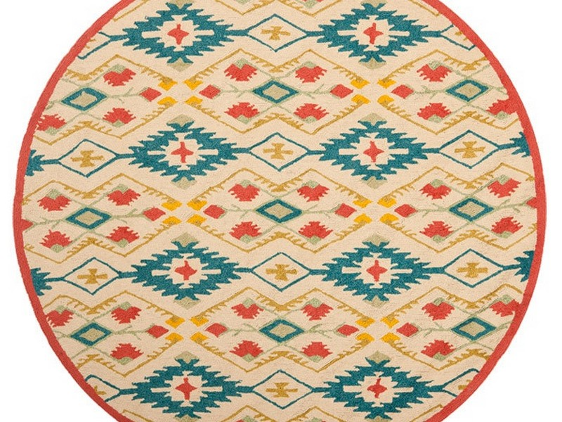 Round Indoor Outdoor Rugs