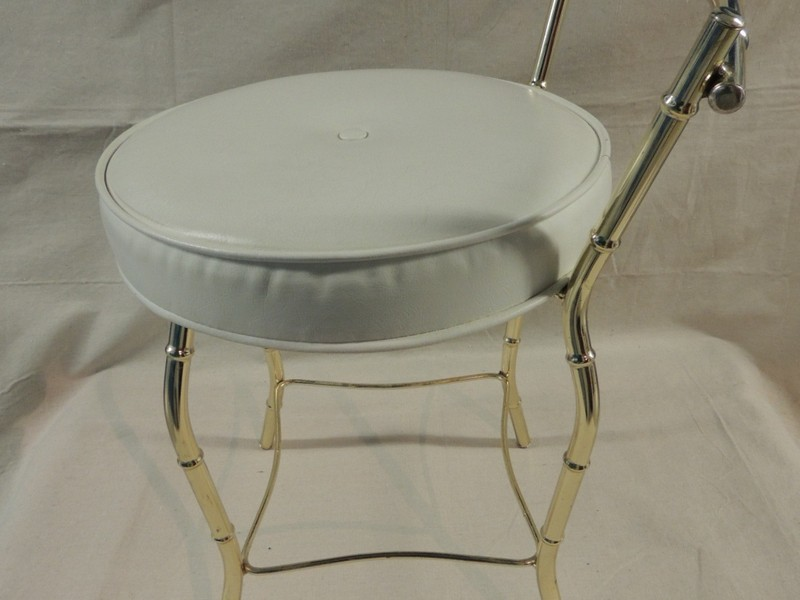 Round Vanity Stool Cushion