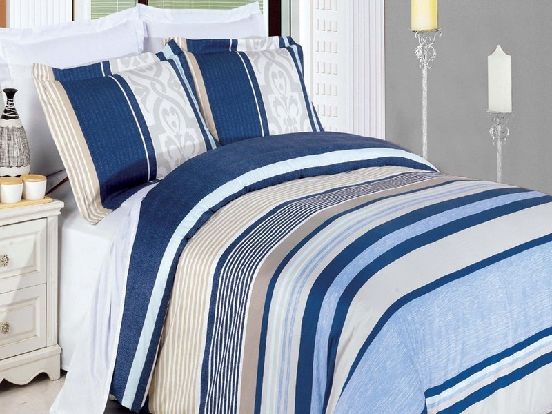 Royal Blue Duvet Cover Queen