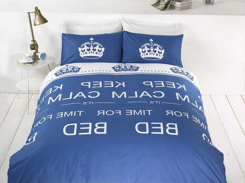 Royal Blue Duvet Cover Single