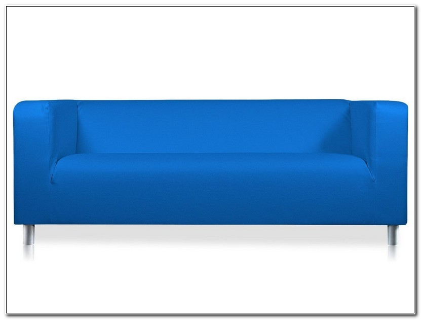 Royal Blue Sofa Cover