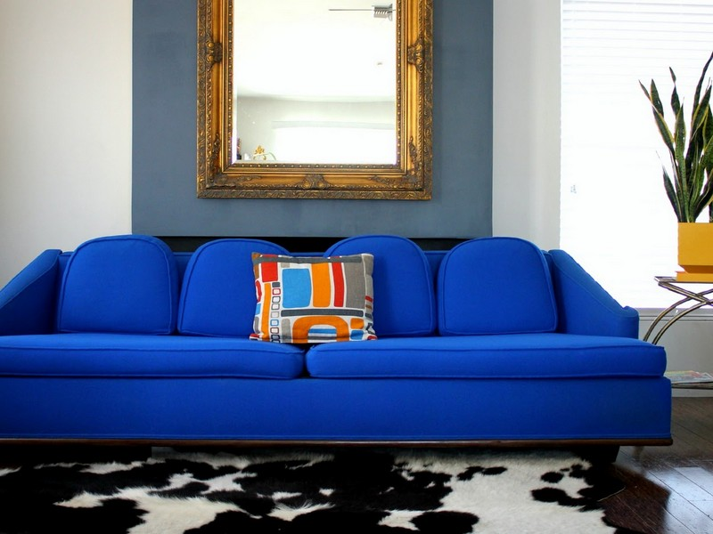 Royal Blue Sofa Sets