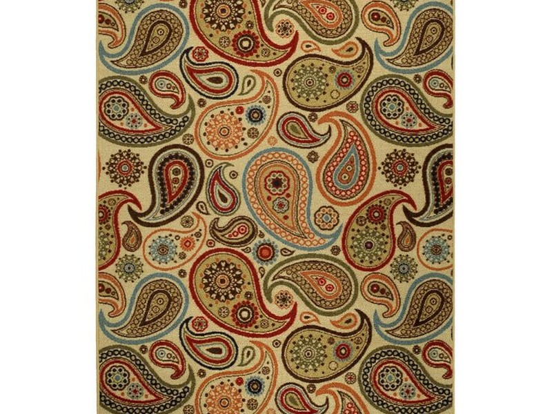 Rubber Backed Rugs 3x5