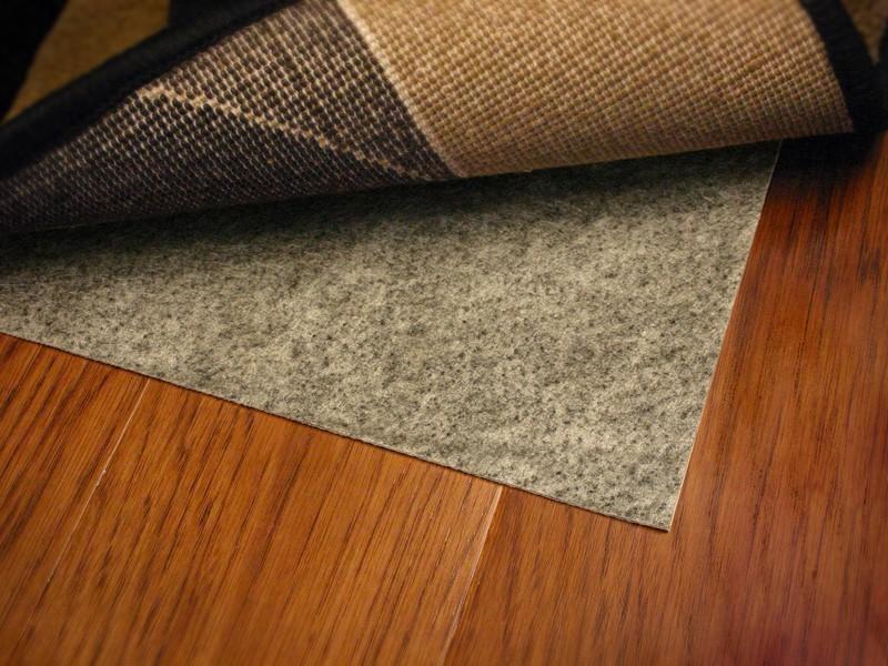 Rubber Backed Rugs On Hardwood Floors