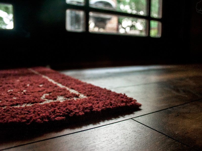 Rubber Backed Rugs On Hardwood