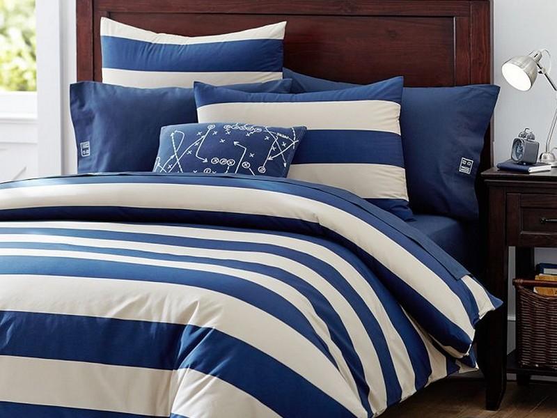 Rugby Stripe Bedding Target