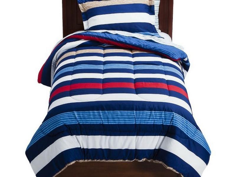 Rugby Stripe Toddler Bedding