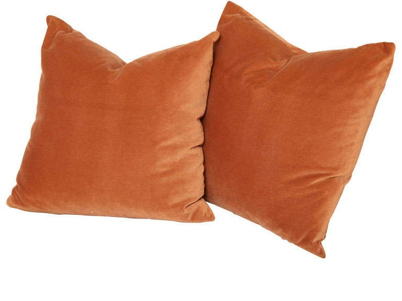 Rust Colored Throw Pillows