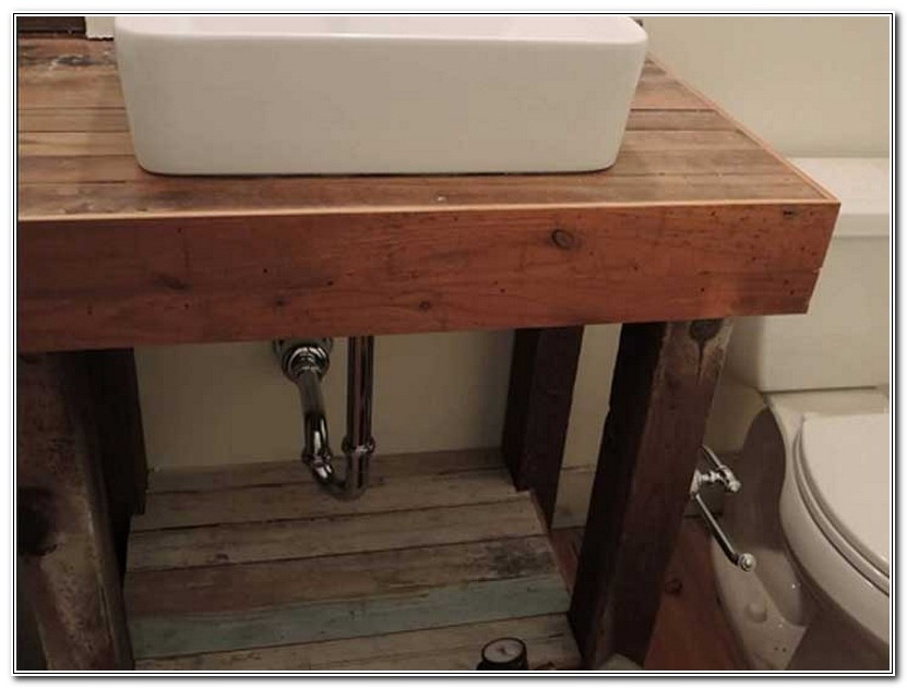 Rustic Bathroom Sink Consoles