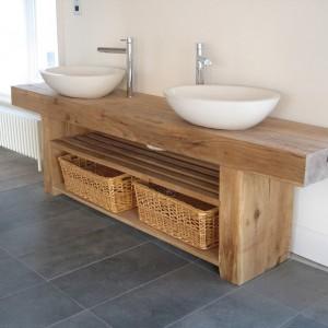 Rustic Bathroom Sink Unit