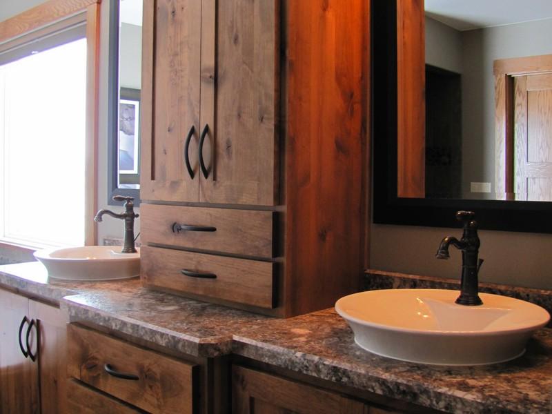 Rustic Bathroom Vanity Light Fixtures
