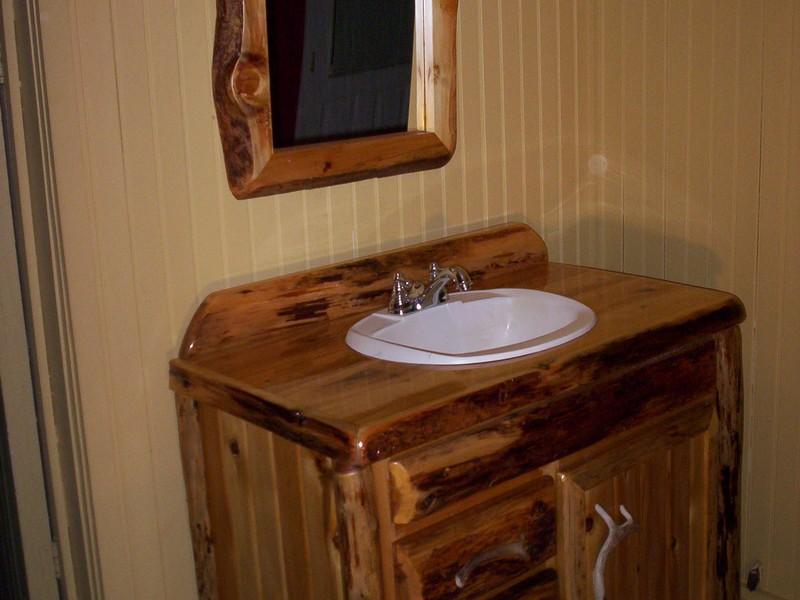 Rustic Bathroom Vanity Mirrors