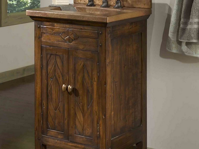 Rustic Bathroom Vanity Units