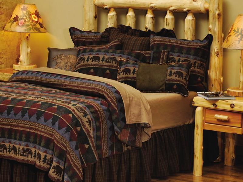Rustic Bed Comforter Sets