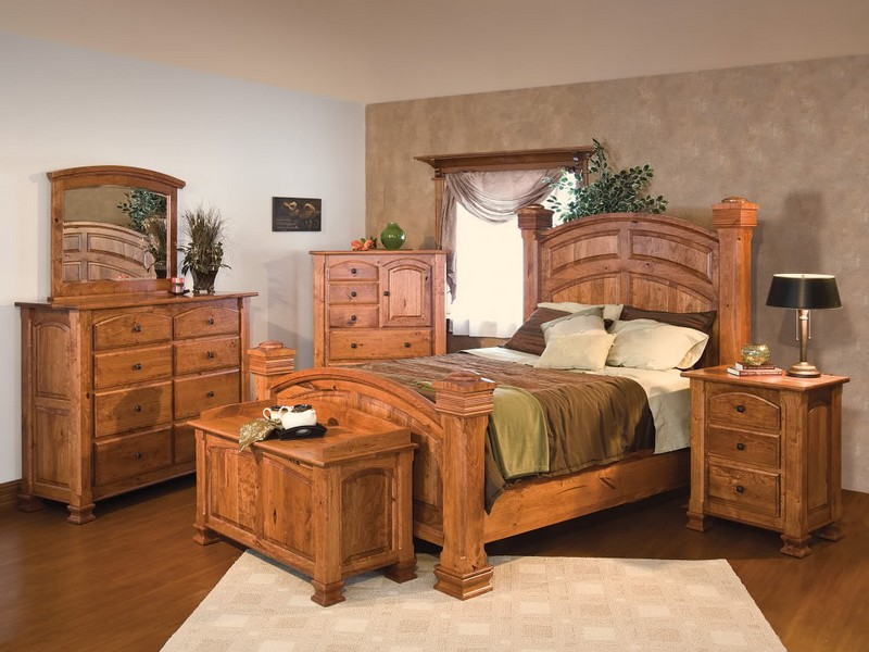 Rustic Bed Sets Furniture