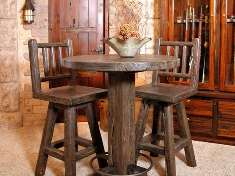 Rustic Bistro Table And Chairs