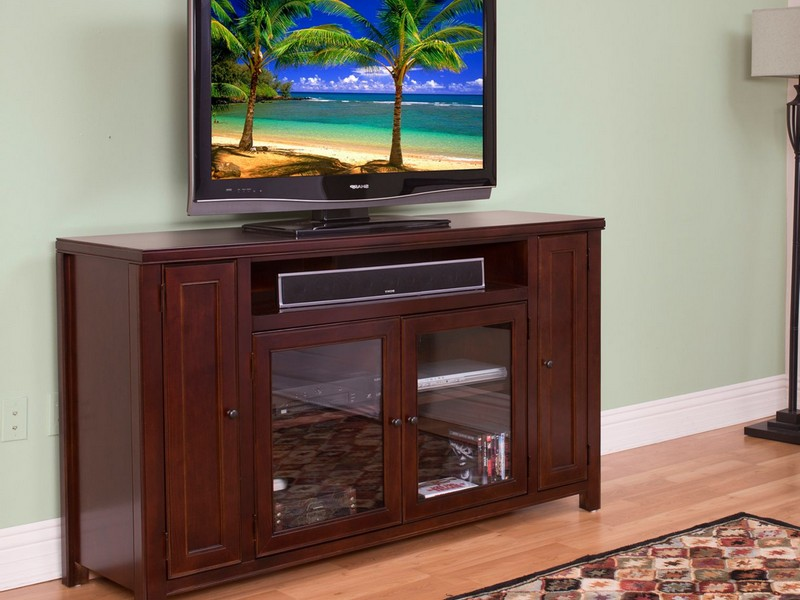 Rustic Electric Fireplace Tv Stand