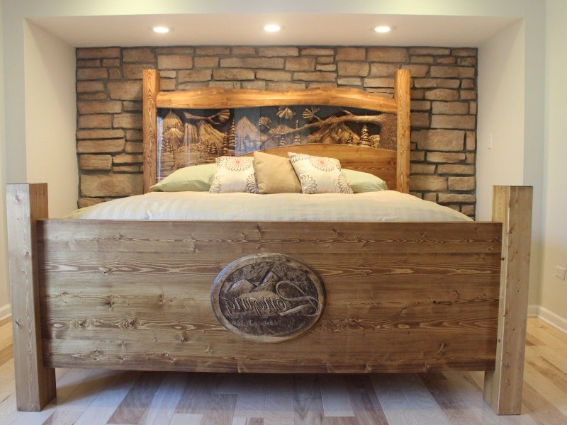 Rustic Headboards King Size Beds
