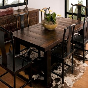 Rustic Tall Dining Room Tables