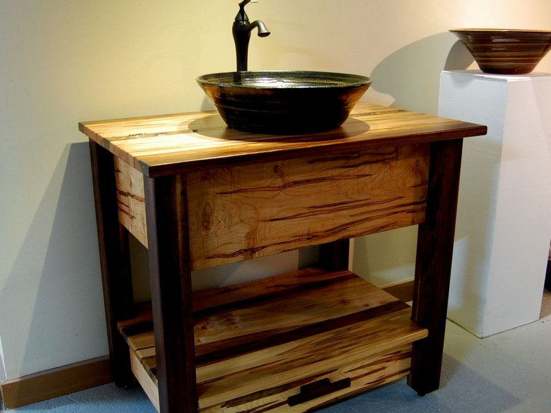 Rustic Vanities For Small Bathrooms