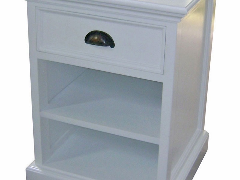 Rustic White Bedside Tables