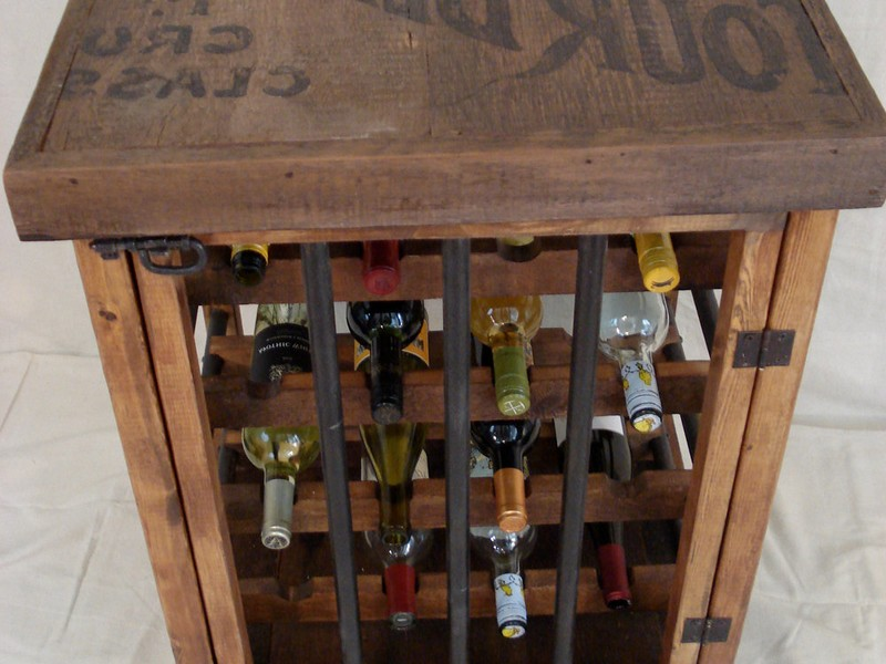 Rustic Wine Rack Furniture