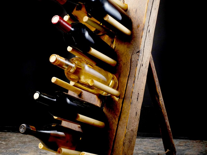 Rustic Wine Rack Ideas
