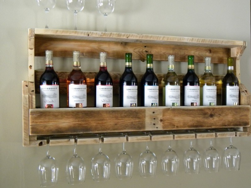 Rustic Wine Rack Plans