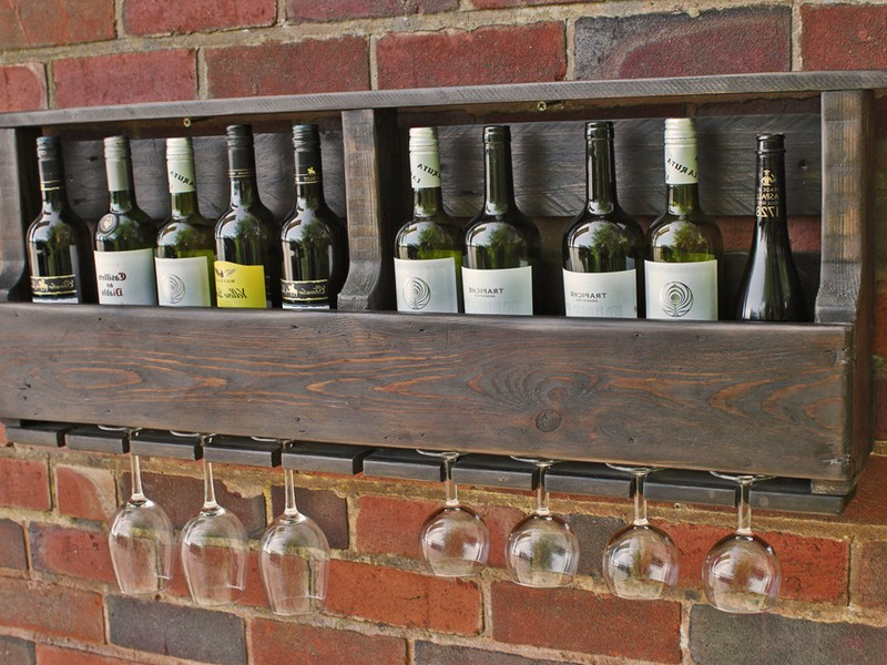 Rustic Wine Racks Uk