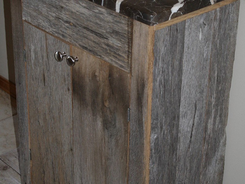 Rustic Wood Bathroom Vanities