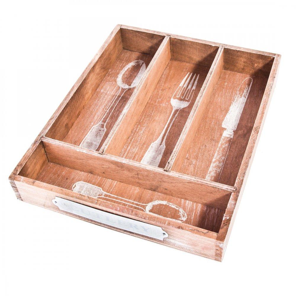 Rustic Wood Tray