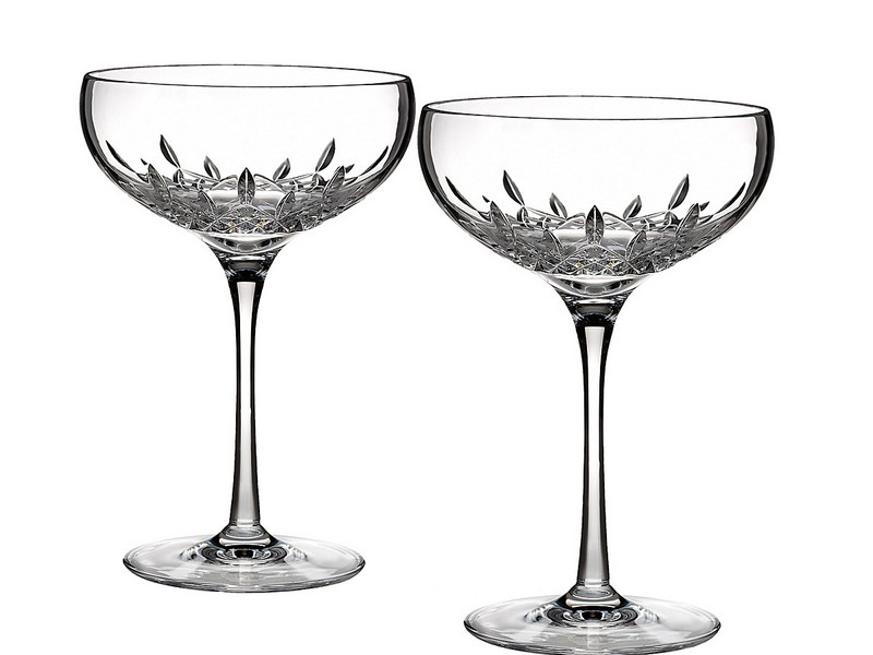 Saucer Style Champagne Glasses
