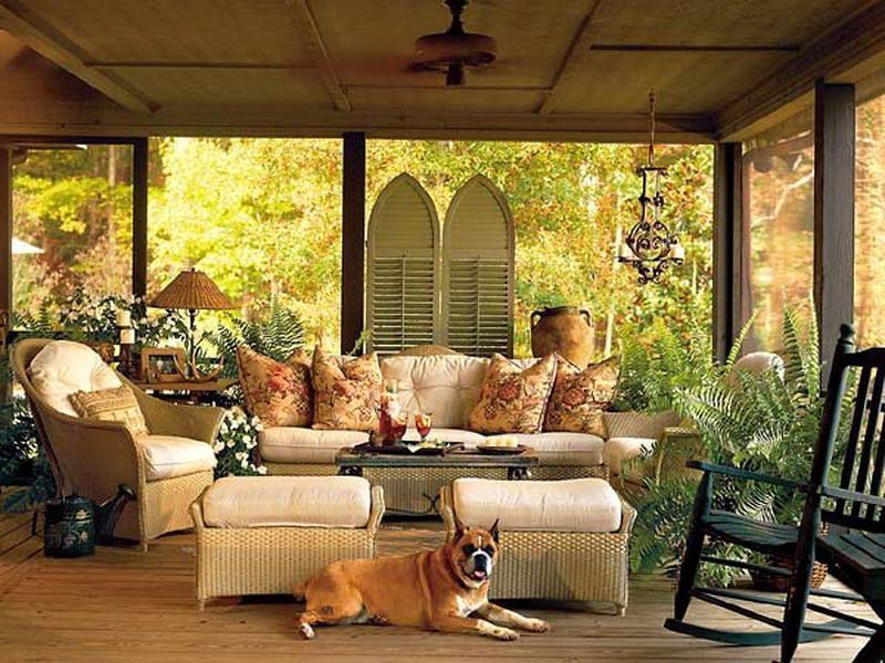 Screened In Porch Furniture Ideas